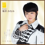 AKB48 鈴懸の木の道で…推しタオル 峯岸 みなみ