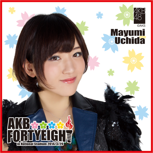 AKB48 国立競技場〜思い出は全部ここに捨てていけ!〜AKB48 推しタオル内田 眞由美