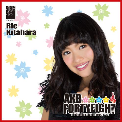 AKB48 国立競技場〜思い出は全部ここに捨てていけ!〜AKB48 推しタオル北原 里英