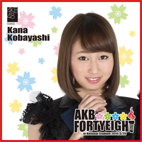 AKB48 国立競技場〜思い出は全部ここに捨てていけ!〜AKB48 推しタオル小林 香菜