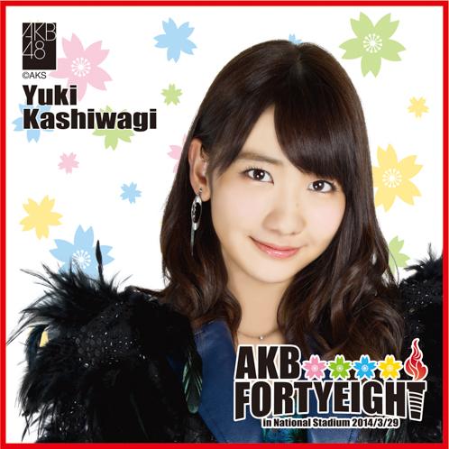 AKB48 国立競技場~思い出は全部ここに捨てていけ!~AKB48 推しタオル柏木 由紀