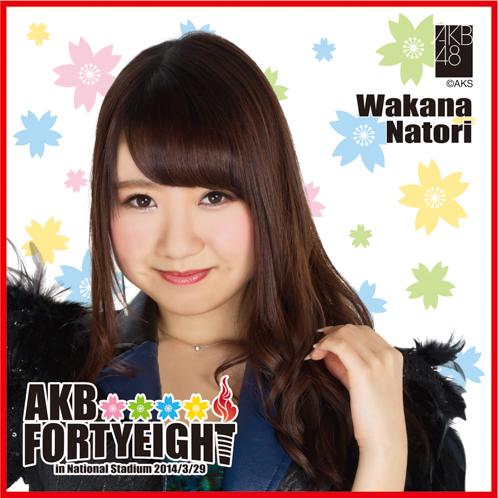 AKB48 国立競技場〜思い出は全部ここに捨てていけ!〜AKB48 推しタオル名取 稚菜