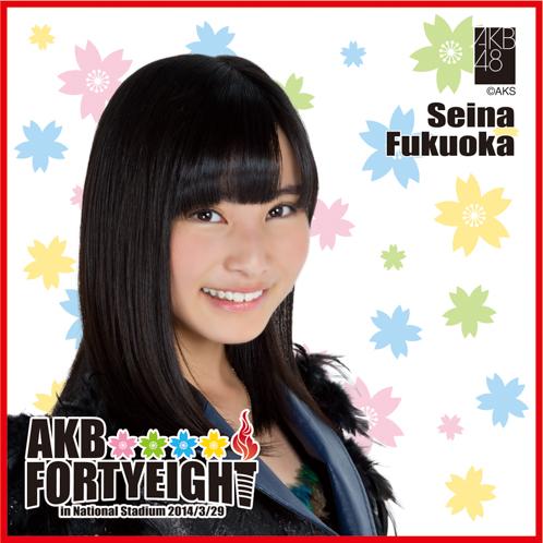AKB48 国立競技場~思い出は全部ここに捨てていけ!~AKB48 推しタオル福岡 聖菜