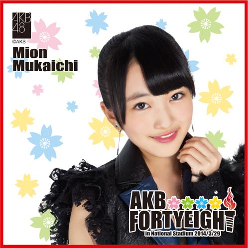 AKB48 国立競技場~思い出は全部ここに捨てていけ!~AKB48 推しタオル向井地 美音