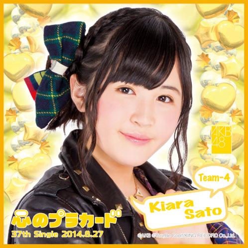 AKB48 心のプラカード推しタオル佐藤 妃星