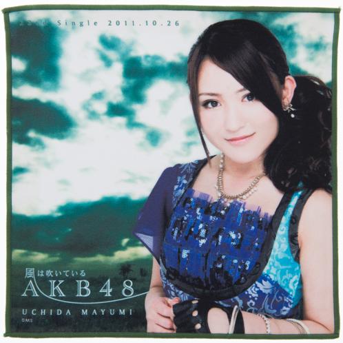 AKB48 風は吹いている 推しタオル 内田眞由美