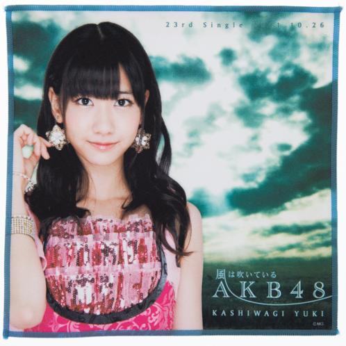 AKB48 風は吹いている 推しタオル 柏木由紀