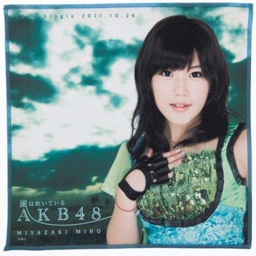 AKB48 風は吹いている 推しタオル 宮崎美穂