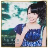 AKB48 風は吹いている 推しタオル 中村麻里子