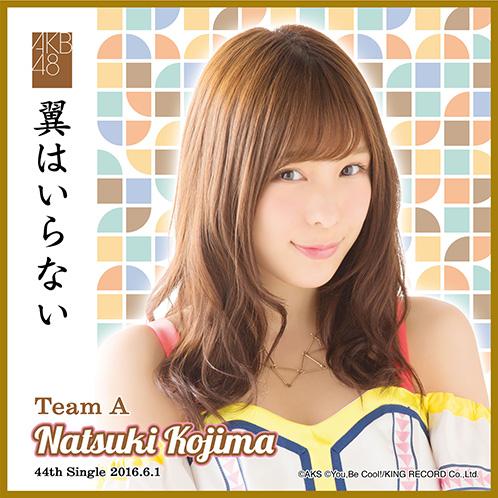 AKB48 翼はいらない 推しタオル 小嶋 菜月