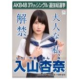 AKB48 37thシングル選抜総選挙 クリアファイル 入山 杏奈