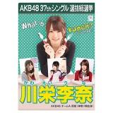 AKB48 37thシングル選抜総選挙 クリアファイル 川栄 李奈