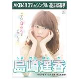 AKB48 37thシングル選抜総選挙 クリアファイル 島崎 遥香