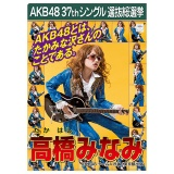 AKB48 37thシングル選抜総選挙 クリアファイル 高橋 みなみ