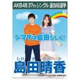 AKB48 37thシングル選抜総選挙 クリアファイル 島田 晴香