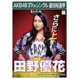 AKB48 37thシングル選抜総選挙 クリアファイル 田野 優花