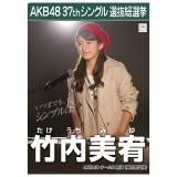 AKB48 37thシングル選抜総選挙 クリアファイル 竹内 美宥