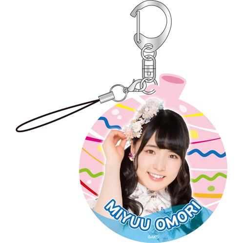 AKB48 真夏の単独コンサート in さいたまスーパーアリーナ~川栄さんのことが好きでした~推しアクリルキーホルダー 大森 美優