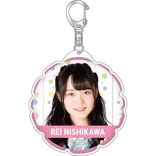 AKB48 全国ツアー2019~楽しいばかりがAKB!~ 推しバルーンキーホルダー 西川怜
