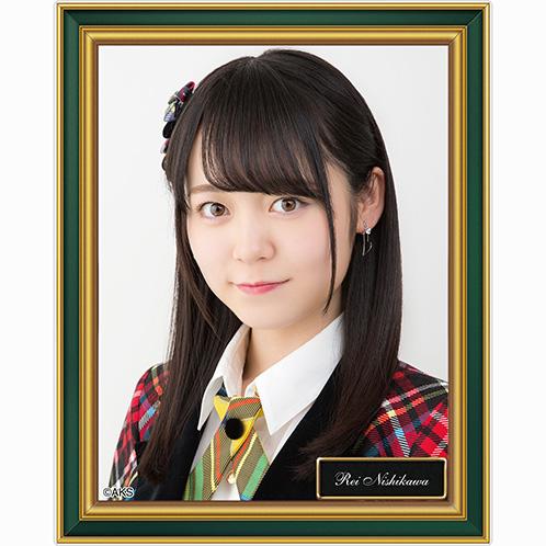 AKB48 劇場壁写アクリルバッジ 西川怜