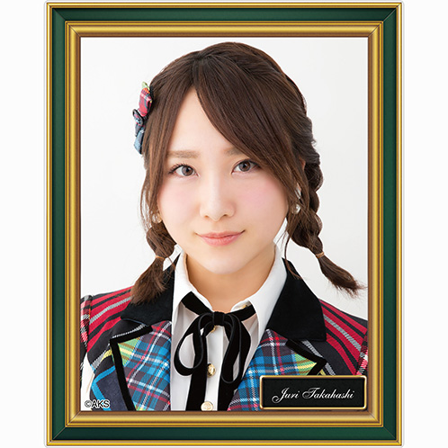 AKB48 劇場壁写アクリルバッジ 高橋朱里