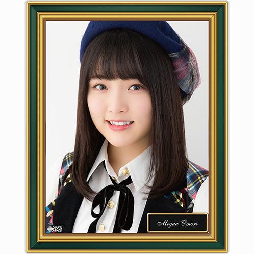 AKB48 劇場壁写アクリルバッジ 大森美優