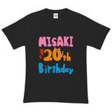 AKB48 メンバーデザイン生誕記念Tシャツ&生写真セット 岩佐 美咲