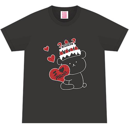 AKB48 生誕記念Tシャツ&生写真セット 2018年1月度 篠崎彩奈