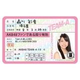 AKB48 推し免許証2 森川彩香