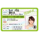 AKB48 推し免許証2 島田晴香