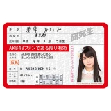 AKB48 推し免許証2 峯岸みなみ
