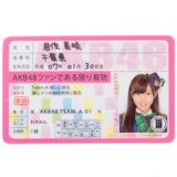 AKB48 推し免許証 岩佐美咲