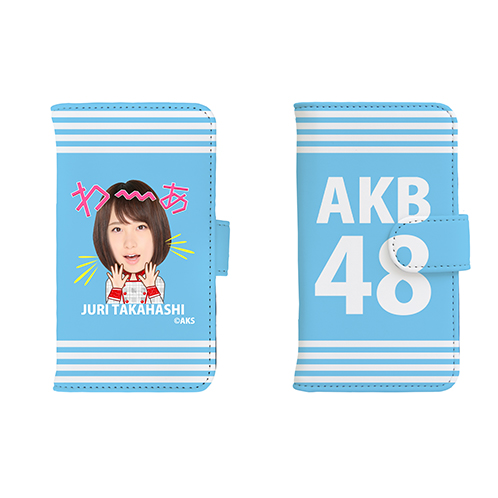 AKB48 45thシングル選抜総選挙 第一党記念 手帳型スマホケース 高橋朱里Ver.①