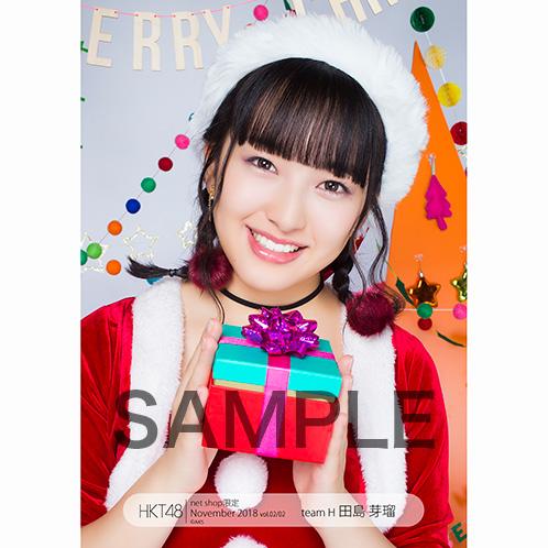 HKT48 2018年11月度 net shop限定個別生写真5枚セットvol.2 田島芽瑠