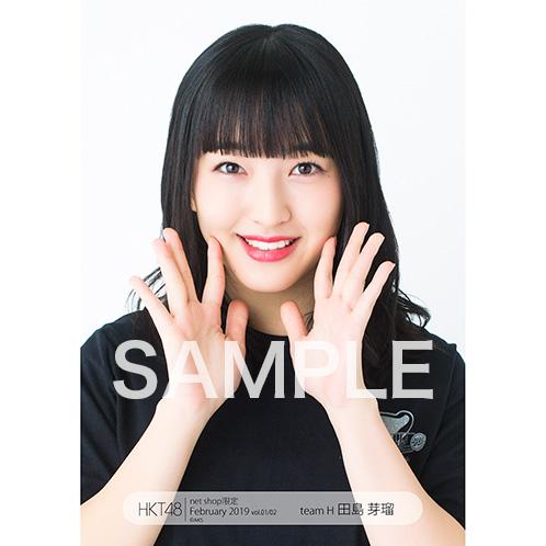 HKT48 2019年2月度 net shop限定個別生写真5枚セットvol.1 田島芽瑠