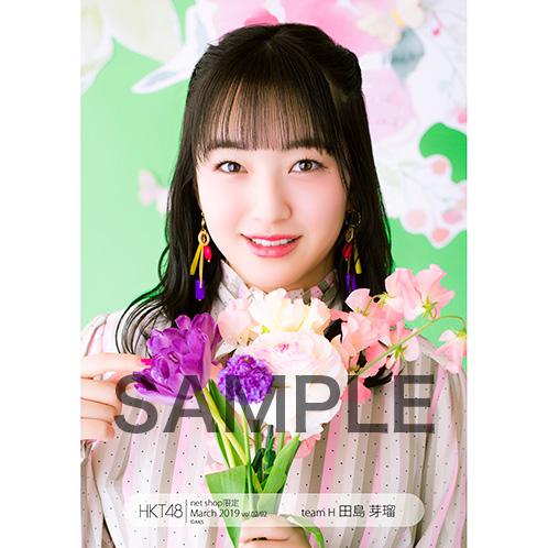HKT48 2019年3月度 net shop限定個別生写真5枚セットvol.2 田島芽瑠