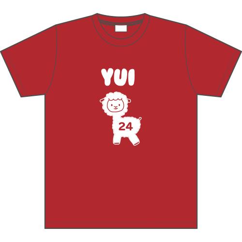 【駒田京伽デザイン】HKT48 R24 個別Tシャツ 神志那結衣
