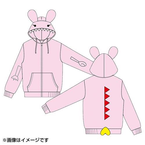 【3月下旬お届け予定】HKT48 田島芽瑠プロデュース「めるザウルスパーカー」