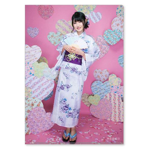 HKT48 2016年2月度個別グッズ「クリアファイル3枚セット」 神志那結衣