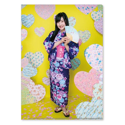 HKT48 2016年2月度個別グッズ「クリアファイル3枚セット」 田島芽瑠