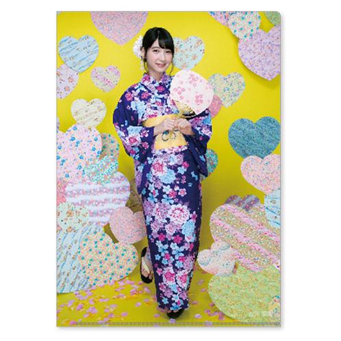 HKT48 2016年2月度個別グッズ「クリアファイル3枚セット」 松岡菜摘