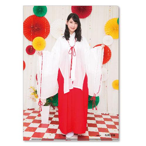 HKT48 2016年5月度個別グッズ「クリアファイル3枚セット 第3弾」 松岡菜摘