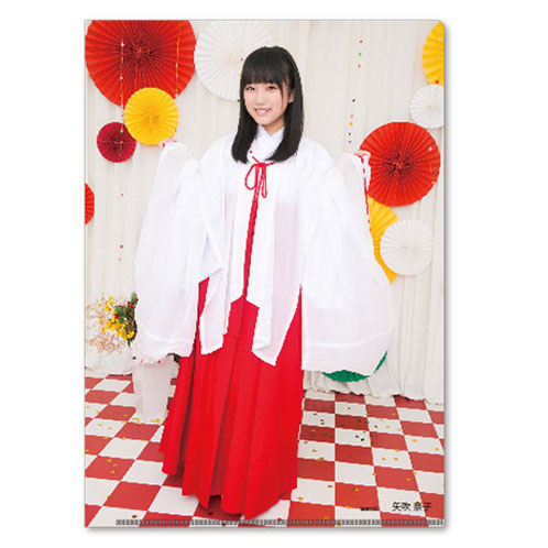 HKT48 2016年5月度個別グッズ「クリアファイル3枚セット 第3弾」 矢吹奈子