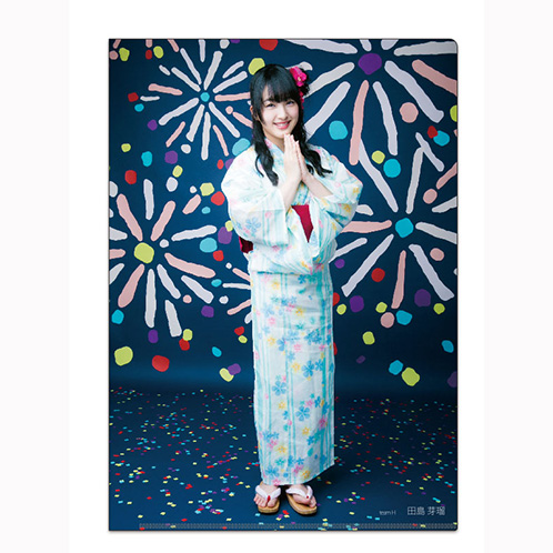 HKT48 2016年12月度個別グッズ「クリアファイル3枚セット 第5弾」 田島芽瑠