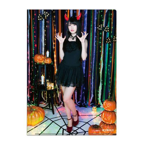 HKT48 2017年10月度個別グッズ「クリアファイル3枚セット 第6弾」 神志那結衣