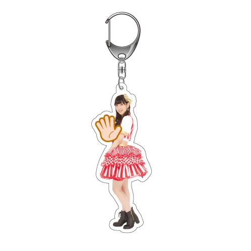 AKB48 第6回 じゃんけん大会2015 キーホルダー HKT48 Ver. 松岡菜摘