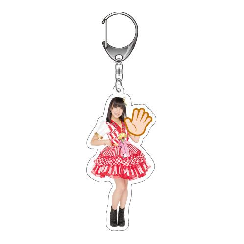 AKB48 第6回 じゃんけん大会2015 キーホルダー HKT48 Ver. 矢吹奈子
