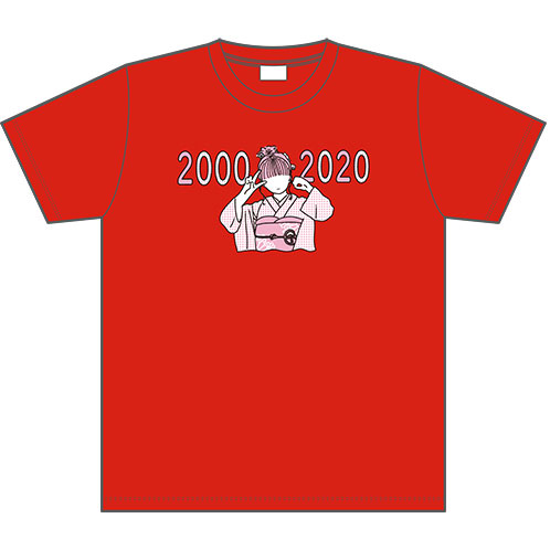 【予約商品】HKT48 生誕記念Tシャツ&生写真セット 2020年1月度 田島芽瑠