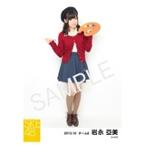 SKE48 2013年10月度生写真「芸術の秋」個別生写真5枚セット 岩永亞美