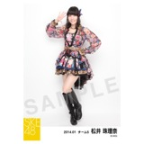 2014年1月度生写真「ドーム衣装」個別生写真5枚セット 松井珠理奈